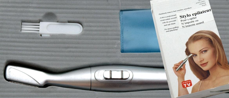 stylo épilateur